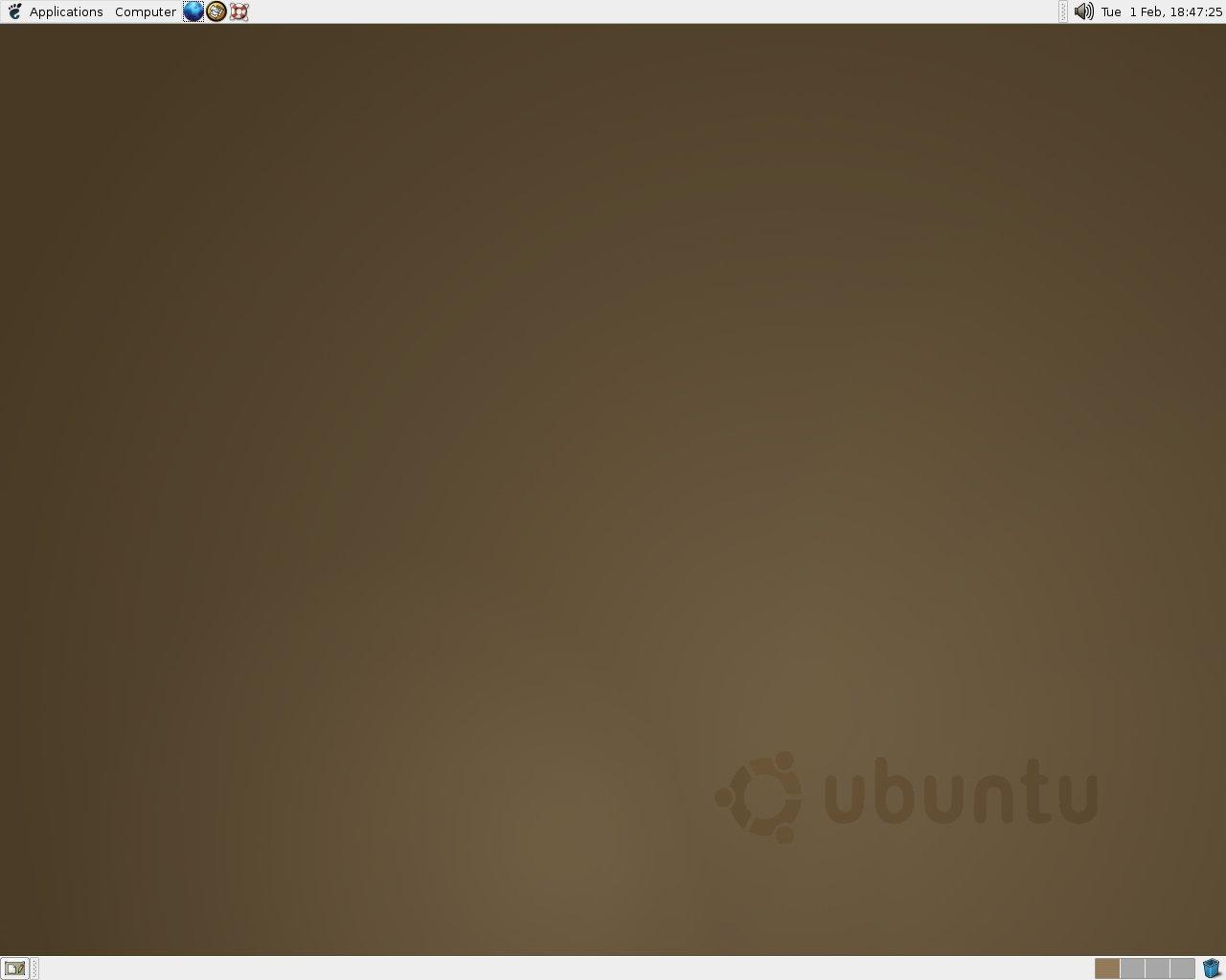 """Ubuntu 4.10 """"Warty Warthog"""""""