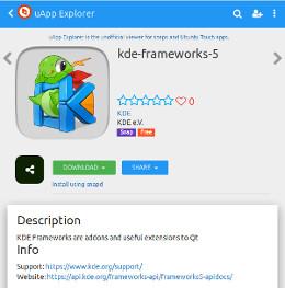 KDE Snap Framework