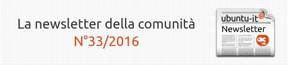Newsletter italiana 033.2016