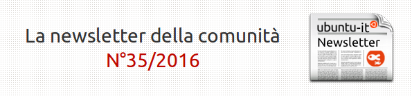 Newsletter italiana 035.2016