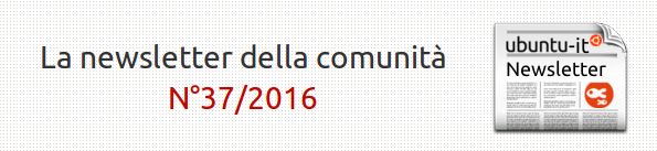 Newsletter italiana 2016/037