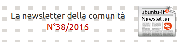 Newsletter italiana 038.2016