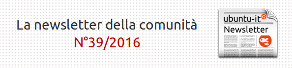 Newsletter italiana 039.2016