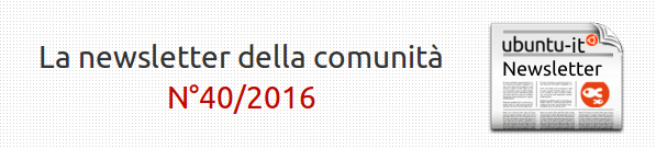Newsletter italiana 040/2016