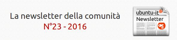 Newsletter N°23 - 2016