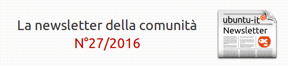Newsletter italiana 027.2016