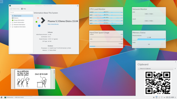 KDE Plasma 5.3 su Kubuntu
